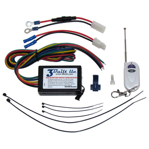 250 Feet Remote Engine Kill Switch, 12-15VDC Systems