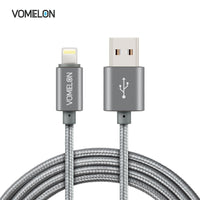 2Pack Apple Lightning to USB Sync & Charging Cable Super Speed Extra Long Nylon Braided USB Cable for iPhone 6, 6 Plus, iPod Touch 5/6, iPad Air and More Apple devices