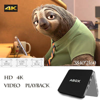 2017 Model GooBang Doo Android 6.0 TV Box, ABOX Android TV Box Amlogic S905X 64 Bits and True 4K Playing