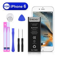 ICHECKEY Battery for iPhone 6 with Complete Repair Tools Kit and Instructions Replacement External Li-Ion battery pack [365 Days Warranty]