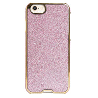 Agent 18 Inlay  case for iPhone 6 - Pink Glitter