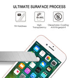 [2 Pack] Vonetone iPhone 7 Plus Tempered Glass Screen Protector [3D Touch Compatible][Full Coverage][HD Clear] Anti Scratch/Fingerprint/Shock, Easy Installation for iPhone 7 plus (5.5 inch) -Black