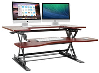 Halter ED-258 Preassembled Height Adjustable Desk Sit / Stand Desk Elevating Desktop