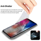 [5 Pack Promotion] iFlash Tempered Glass Screen Protector For Apple iPod Touch 5th / 6th Generation - Crystal Clear / 2.5D Rounded Edges / 9H Hardness / Scratch Proof / Bubble Free / Oleophobic