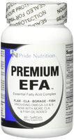 #1 Burpless Fish Oil Omega 3 6 9 EFA with EPA DHA CLA GLA Flax & Borage- More Than Just Fish Oil- Premium EFA 120 Pills- Essential Fatty Acids Supplement for Weight Loss...