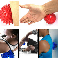 7CM Fitness Pain Stress Trigger Point Knot Massage Ball Crossfit Muscle Relief Tools Yoga Exercise Training Lacrosse Balls