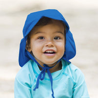 i play. Baby Boys' and Girls' Flap Sun Protection Swim Hat