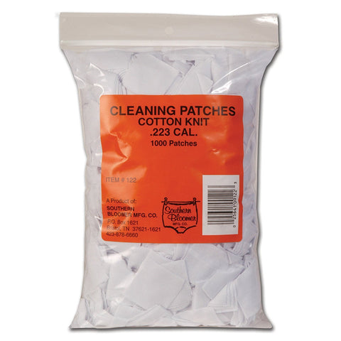 1000-pack Gun Cleaning Patches, .223 CAL