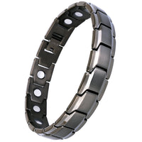 Smarter LifeStyle Elegant Titanium Magnetic Therapy Bracelet Pain Relief for Arthritis and Carpal Tunnel
