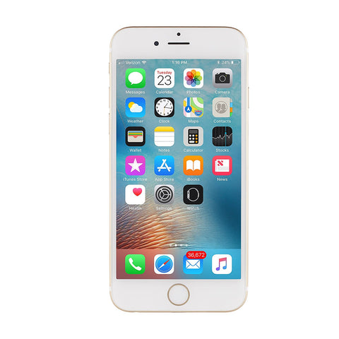 Apple iPhone 6 16 GB Unlocked, Gold (Certified Refurbished)