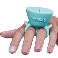tweexy The Original Wearable Nail Polish Holder, Spa Green