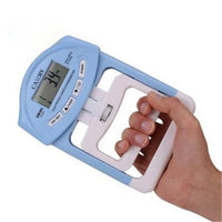90kg/198Ib Digital LCD Dynamometer Hand Grip Power Fitness Measurement Strength Training Mucle Developer for Body Building