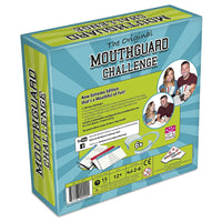 Mouthguard Challenge Extreme Edition - Family Party Game with 1,100 Challenges and 6 Soft Mouthguards