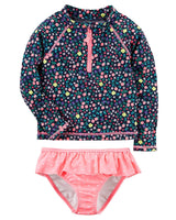 Carter's Girls' Two Piece Swimsuit