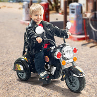 3 Wheel Chopper Trike Motorcycle for Kids, Battery Powered Ride On Toy by Lil' Rider  – Ride on Toys for Boys and Girls, Toddler and Up - Black