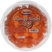 Zachary Artificial Orange Flavored Slices 32oz.