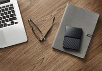 WD 1TB Black My Passport for Mac Portable External Hard Drive - USB 3.0 - WDBFKF0010BBK-WESN