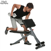 Health Fitness Equipment Stamina Pro Ab Bench Core Strength And Hyper Bench For Ab Core Strength Sit-ups Push-ups