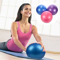 Hot! 3 Colors Yoga Fitness Ball 25cm Utility Yoga Balls Pilates Balance Sport Fitball Proof Balls Anti-slip for Fitness Training