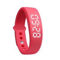 LED Wearable Walking Running Pedometer devices  Sports Pedometer Pulsera inteligente Health Band Waterproof For iphone