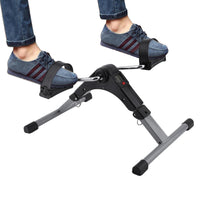 Portable Pedal Exerciser Best Arm Leg Exercise Peddler Machine mini spinning bike LED Screen Display Cycle Leg Machine