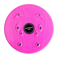 Practical Twist Waist Torsion Disc Board Magnet Aerobic Foot Exercise Yoga Training Health Twist Waist Board