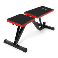 Adjustable AB Flat Incline Bench Abdominal Sit Up Board Fold Dumbbell Bench  Home Gym Workout Fitness Equipment Training