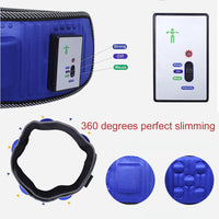 Vibration Fitness Massager Electric Vibrating Slimming Belt Shaking Machine Slimming Device Vibration Fat Burning Artifa