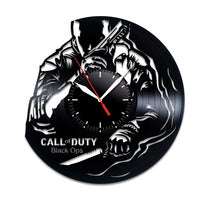 Call of Duty Black Ops vinyl clock Call of Duty decor Call of Duty poster Call of Duty videogame Call of Duty story Call of Duty fan gift