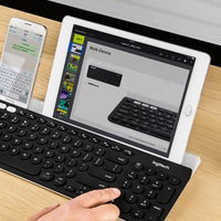Logitech K780 Multi-Device Wireless Keyboard for Computer, Phone and Tablet – Logitech FLOW Cross-Computer Control Compatible