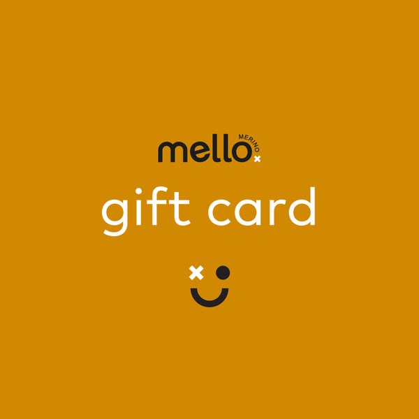gift card - mello merino