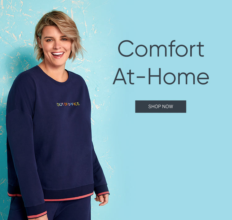 Comfort At-Home Out of the Office lounge set Homepage for BedHead Pajamas