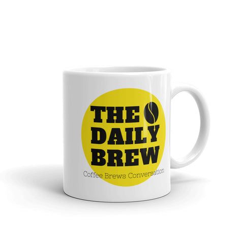 The Daily Brew Coffee Mug