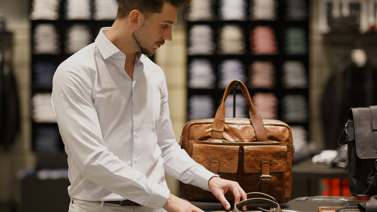 What to Consider When Buying a Leather Messenger Bag for Men