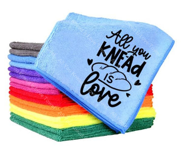 All You Knead Is Love Towel
