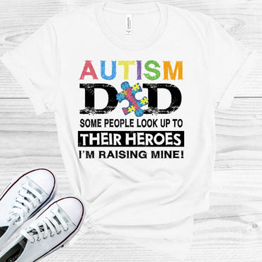 Autism Dad Graphic Tee Graphic Tee