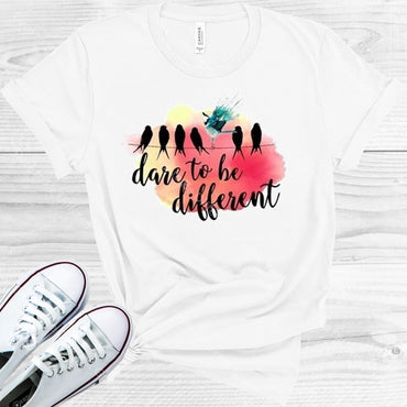 Dare To Be Different Graphic Tee Graphic Tee