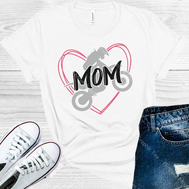 Dirtbike Mom Graphic Tee Graphic Tee