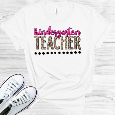 Leopard Teacher Customized Graphic Tee Graphic Tee
