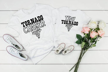 Tiny Tornado Mommy And Me Graphic Tee Graphic Tee