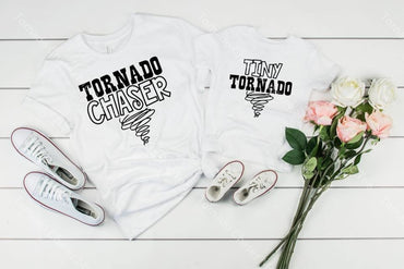 Tornado Chaser Mommy And Me Graphic Tee Graphic Tee