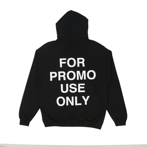 FOR PROMO USE ONLY HOODY // BLACK
