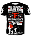 I'M A FISHERMAN - BLACK