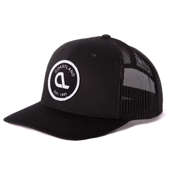 Black Patch Snapback