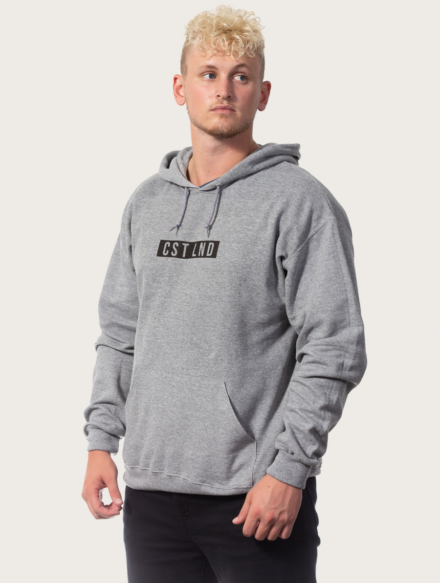 Grey Black Label Hoodie