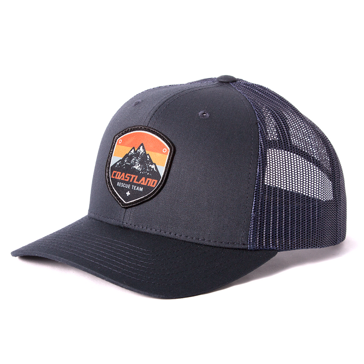 Midnight Navy Rescue Patch Snapback
