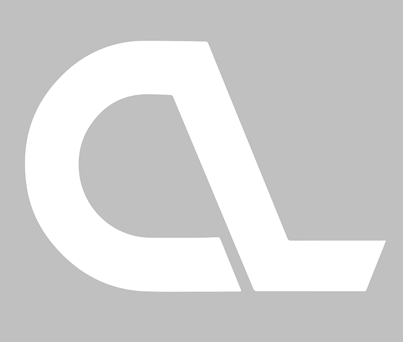 White CL Logo Decal