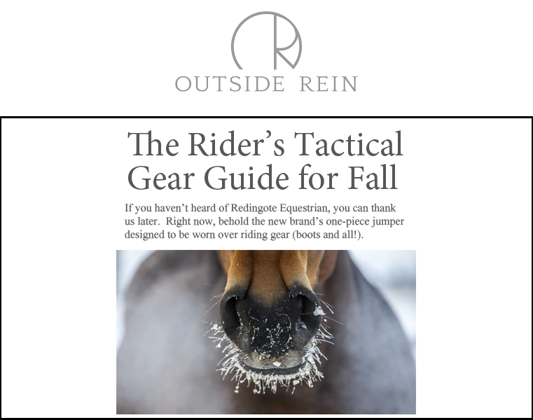 Redingote Equestrian - Outerwear, Riding, Trainer