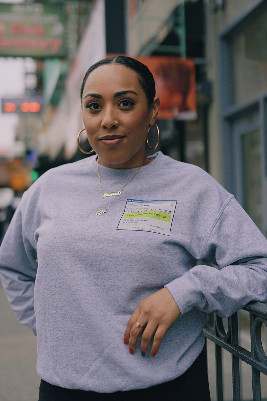 Retro AIM Crewneck