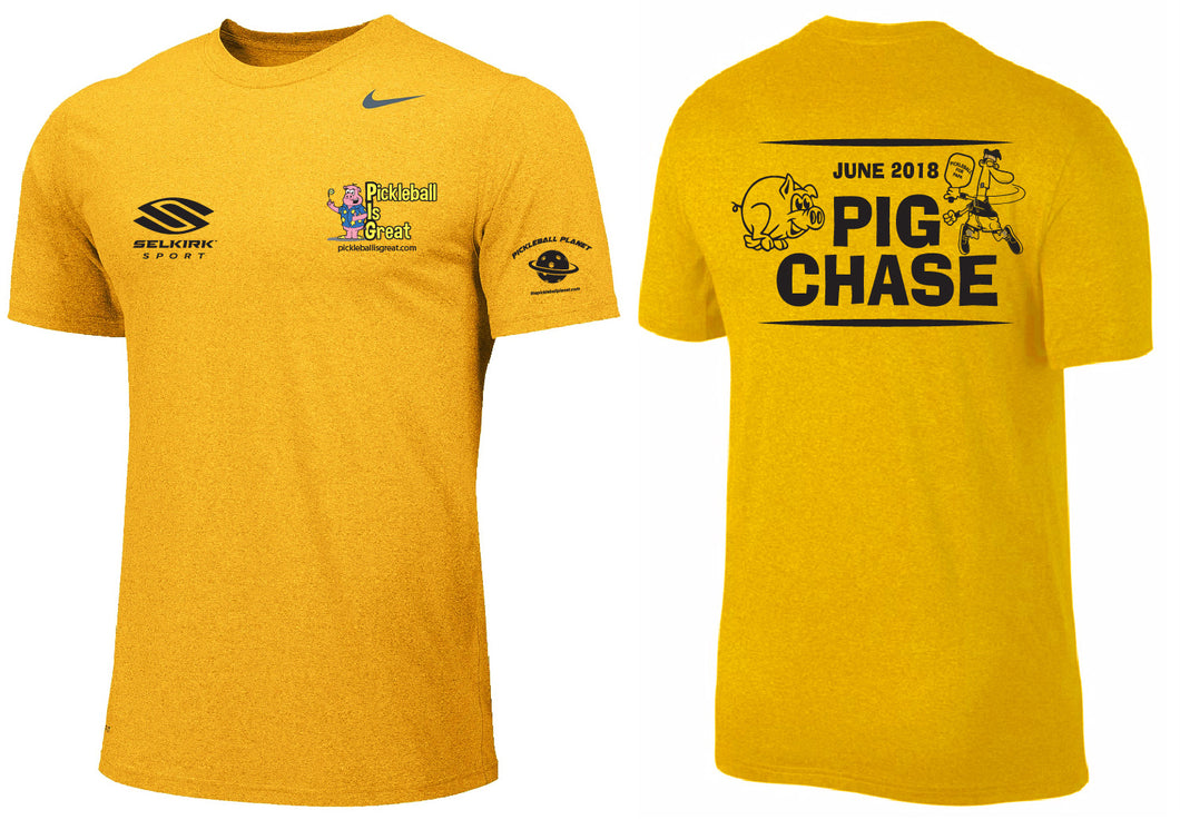 Best June 2018 Amazing PIG Chase Tournament Shirt